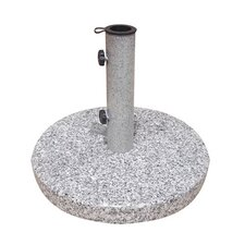 <strong>Jordan Manufacturing</strong> Light Granite Umbrella Base