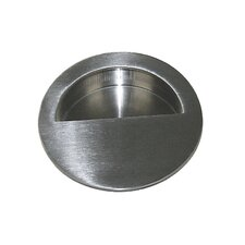 Round Pocket Recessed Pull