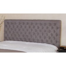 Westham Queen/Full Button Tufted Fabric Headboard