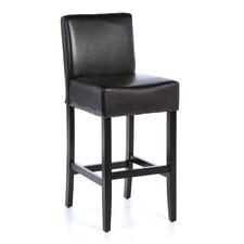 Georgia Leather Bar Stool (Set of 2)