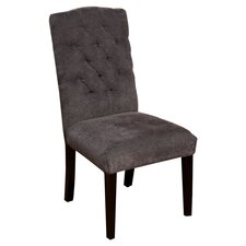 Carrize Crown Top Fabric Dining Chair (Set of 2) (Set of 2)