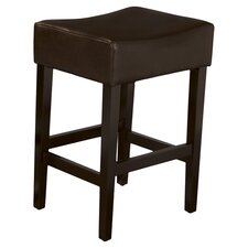 "Develin 27"" Backless Leather Bar Stool (Set of 2)"