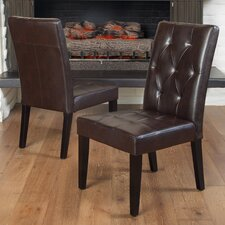 <strong>Home Loft Concept</strong> Exclusives Reseda Parsons Chair (Set of 2)