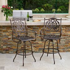 <strong>Home Loft Concept</strong> Roma Barstool (Set of 2)