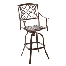 <strong>Home Loft Concept</strong> Sienna Barstool (Set of 2)
