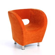 Hester Microfiber Modern Club Chair