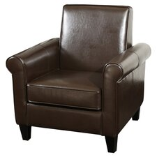 Brooks Bonded Leather Club Chair
