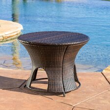 Stephen Wicker Outdoor Round Storage Table
