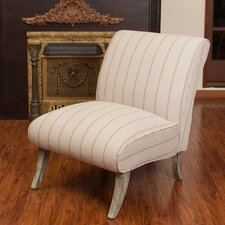 Marquise Linen Slipper Chair