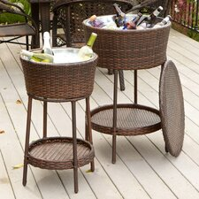 2 Piece Donavan Wicker Bucket Set
