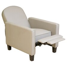 Gilleslee KD Recliner in Natural Fabric Linen Blend