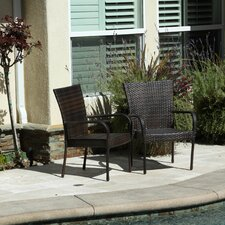 Curacao Outdoor Wicker Chair (Set of 2)
