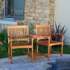 Eveley Eucalyptus Adjoining Chairs