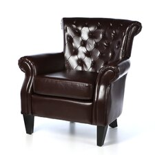 McClain Leather Club Chair