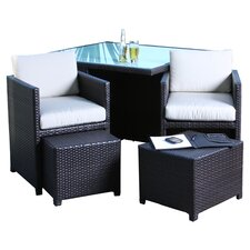 Marmont 5 Piece Outdoor Seating Group with Cushions