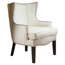 Edinburgh Bonded Leather Quilted Arm Chair