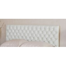 Finnegan Button Tufted Leather Headboard