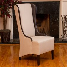 Ainsel High Back Fabric Arm Chair