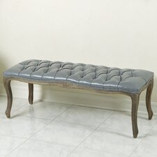 Connor Leather Entryway Bench