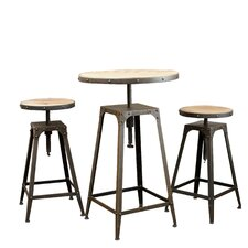 Rutherford 3 Piece Bar Set