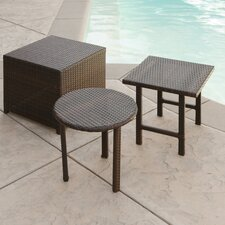 Jarkarta Wicker Table Set