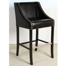 Bari Bonded Leather Barstool