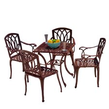 Stephane 5-Piece Outdoor Table and Chair Set