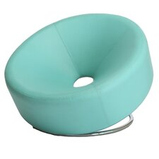 Dion Modern Round Lounge Chair