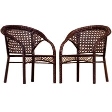 Robinson Wicker Club Chair (Set of 2)