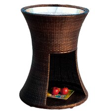 <strong>Home Loft Concept</strong> Apollo Wicker Beverage Caddy Table