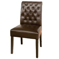 Cullon Tufted Leather Dining Chair