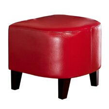 Preston Leather Ottoman