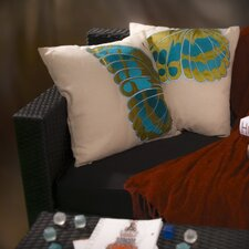 <strong>Home Loft Concept</strong> Embroidered Wings Pillow (Set of 2)