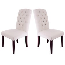 <strong>Home Loft Concept</strong> Parsons Chair (Set of 2)