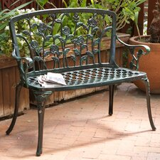 <strong>Home Loft Concept</strong> Saint Kitts Aluminum Garden Bench