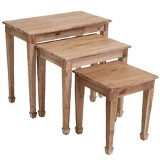 Crescent 3 Piece Nesting Table