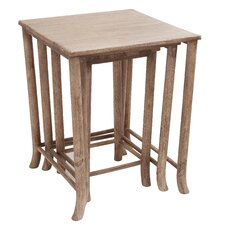 Walt 3 Piece Nesting Table Set