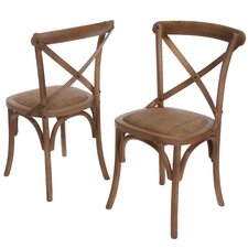 Lloyd Wicker Chairs (Set of 2) (Set of 2)