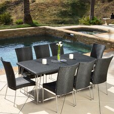 Cornick 9 Piece Outdoor Dining Set