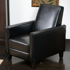 Rodgers Leather Recliner Club Chair