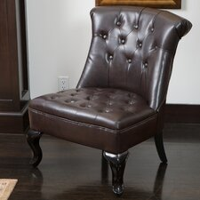 Marco Tufted Bonded Leather Side Chair