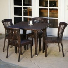 Luminti 5pc Outdoor Dining Set