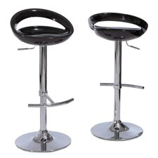 Travian Adjustable Barstools (Set of 2) (Set of 2)