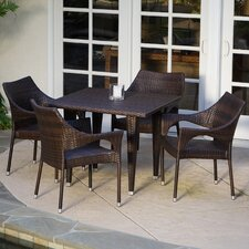 Cliff 5 Piece Dining Set
