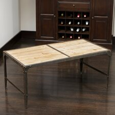Monroe Weathered Wood Dining Table