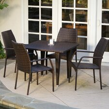 Ventura 5 Piece Outdoor Dining Set