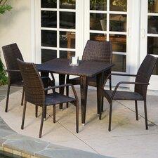 Ventura 5 Piece Outdoor Dining Set