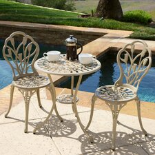 Nassau 3 Piece Bistro Set