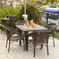 Norwich 5pc Outdoor Dining Set