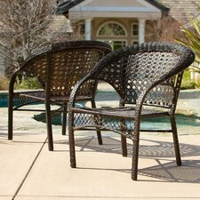 Darlington Outdoor Wicker Chairs (Set of 2) (Set of 2)